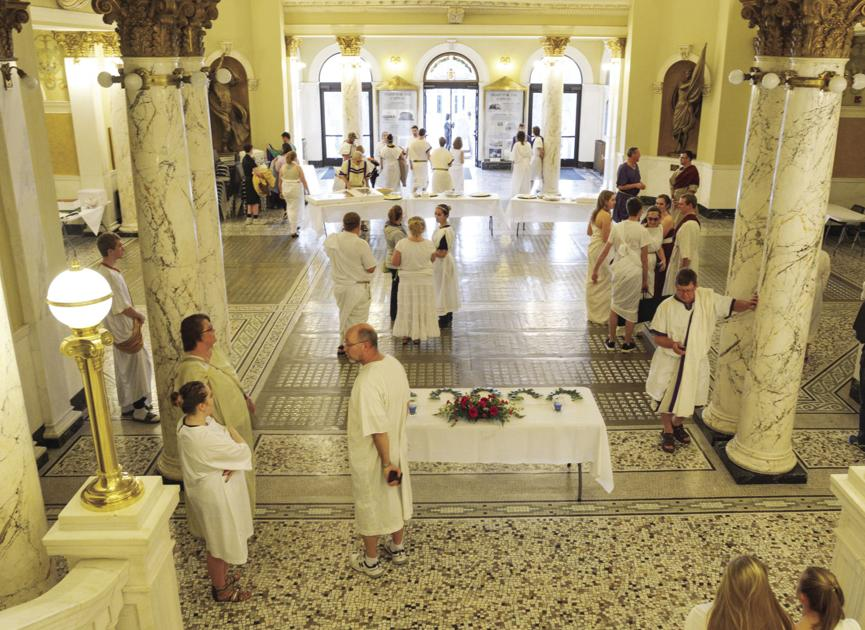 Latin Banquet turns the clock back to Ancient Rome