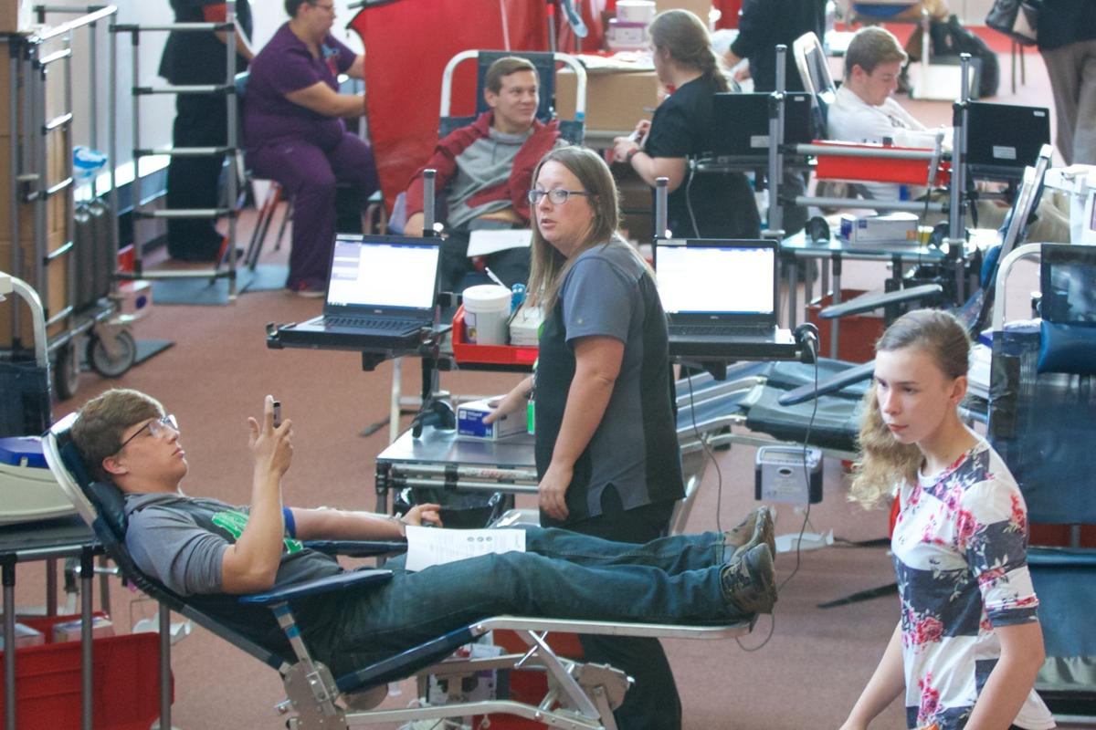 Blood drive at Riggs photo 1 of 4