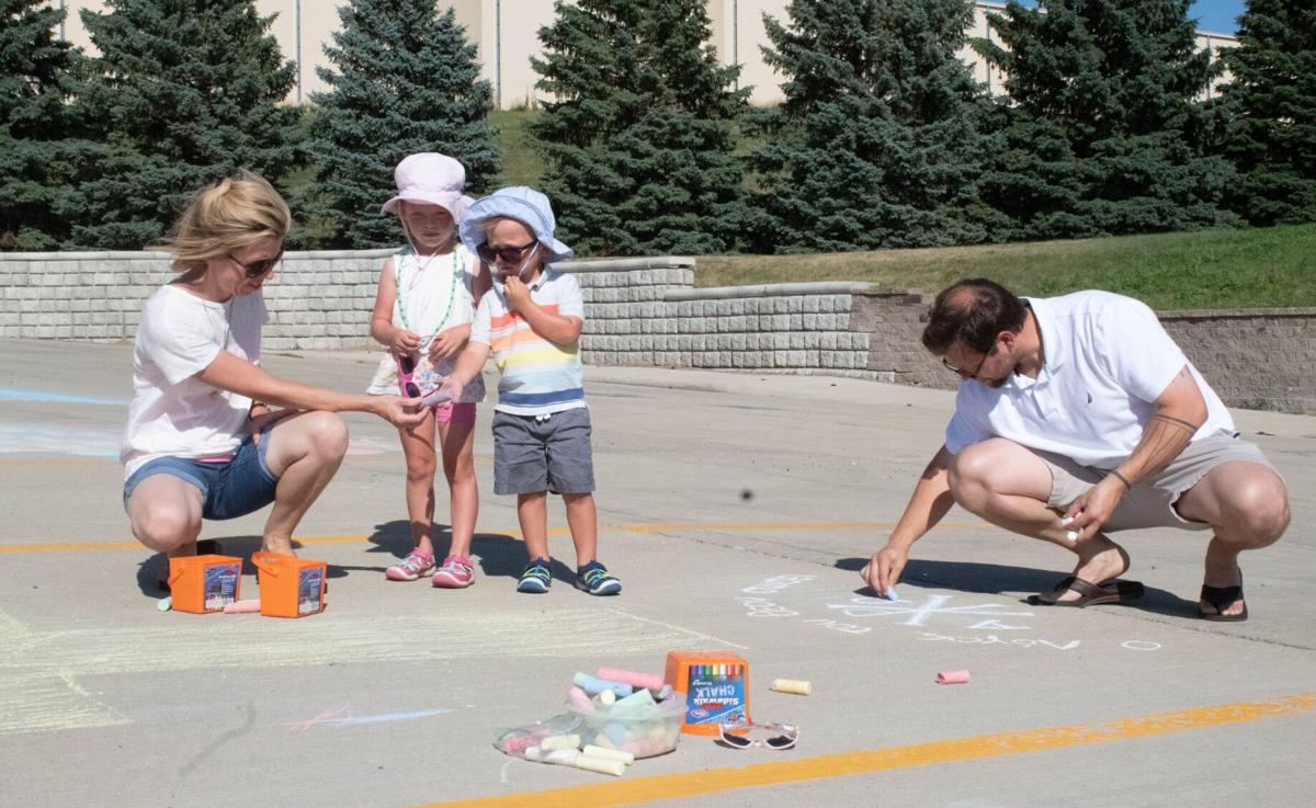 Dust settles after Chalk Art Challenge