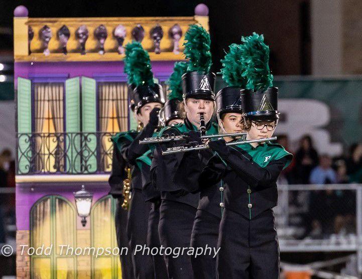 Riggs competitive marching band is upbeat