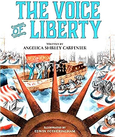 New State Historical Society children's book focuses on Statue of Liberty suffrage protest