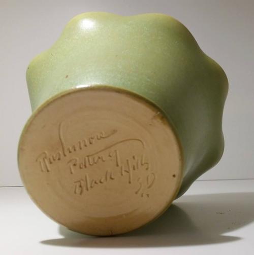 Little Ceramic Pitcher Old 1950s Mount Rushmore Souvenir