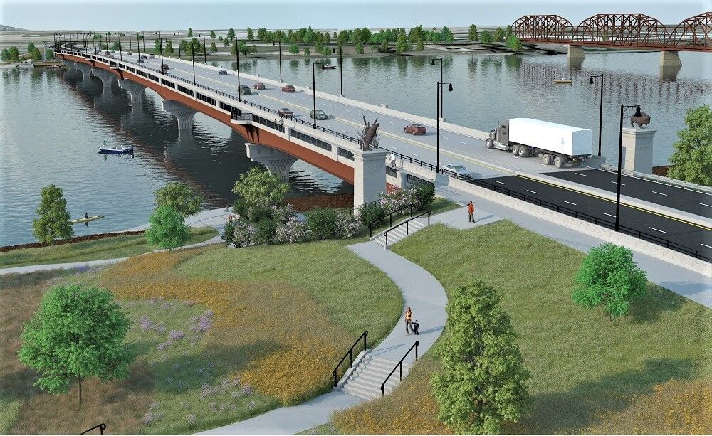 Local subcontractors part of new $50 million bridge