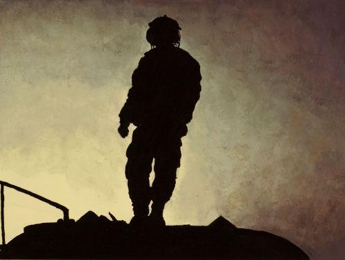 In a war-torn country: A soldier artist looks at Iraq