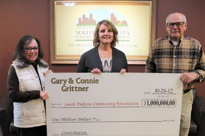 Grittners complete $1 million pledge