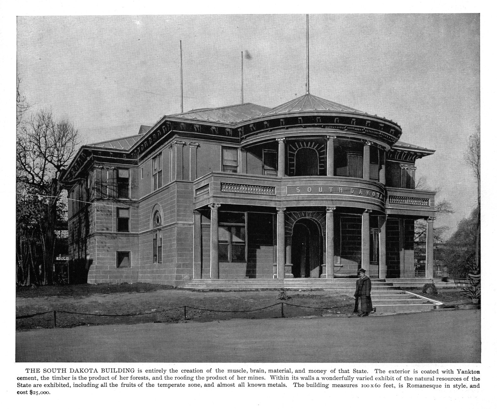 The South Dakota Building at the 1893