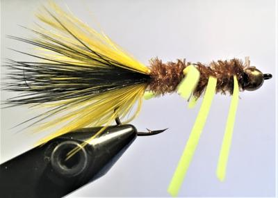 The Tequeely fishing fly