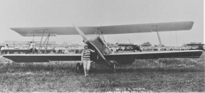 S.D.'s first female pilot - Nellie Zabel Willhite