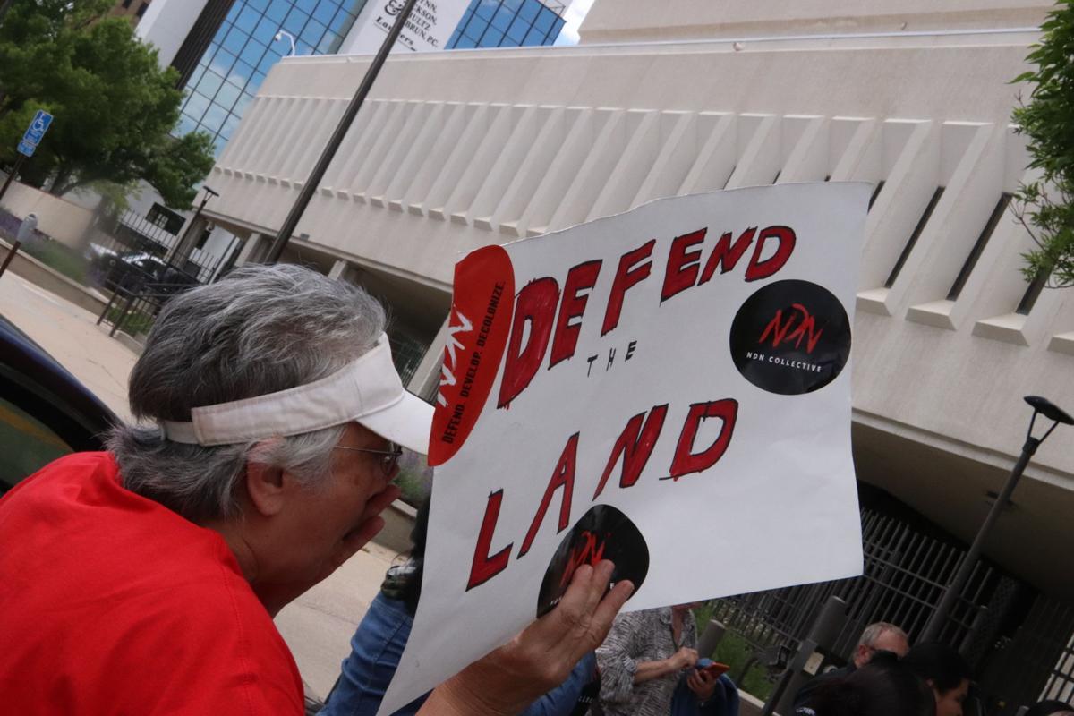 Defend land