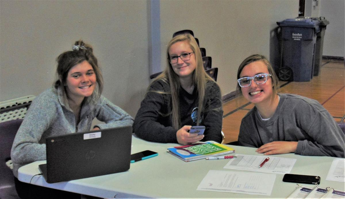 Stanley County High School blood drive a learning experience