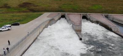 oahe dam releases