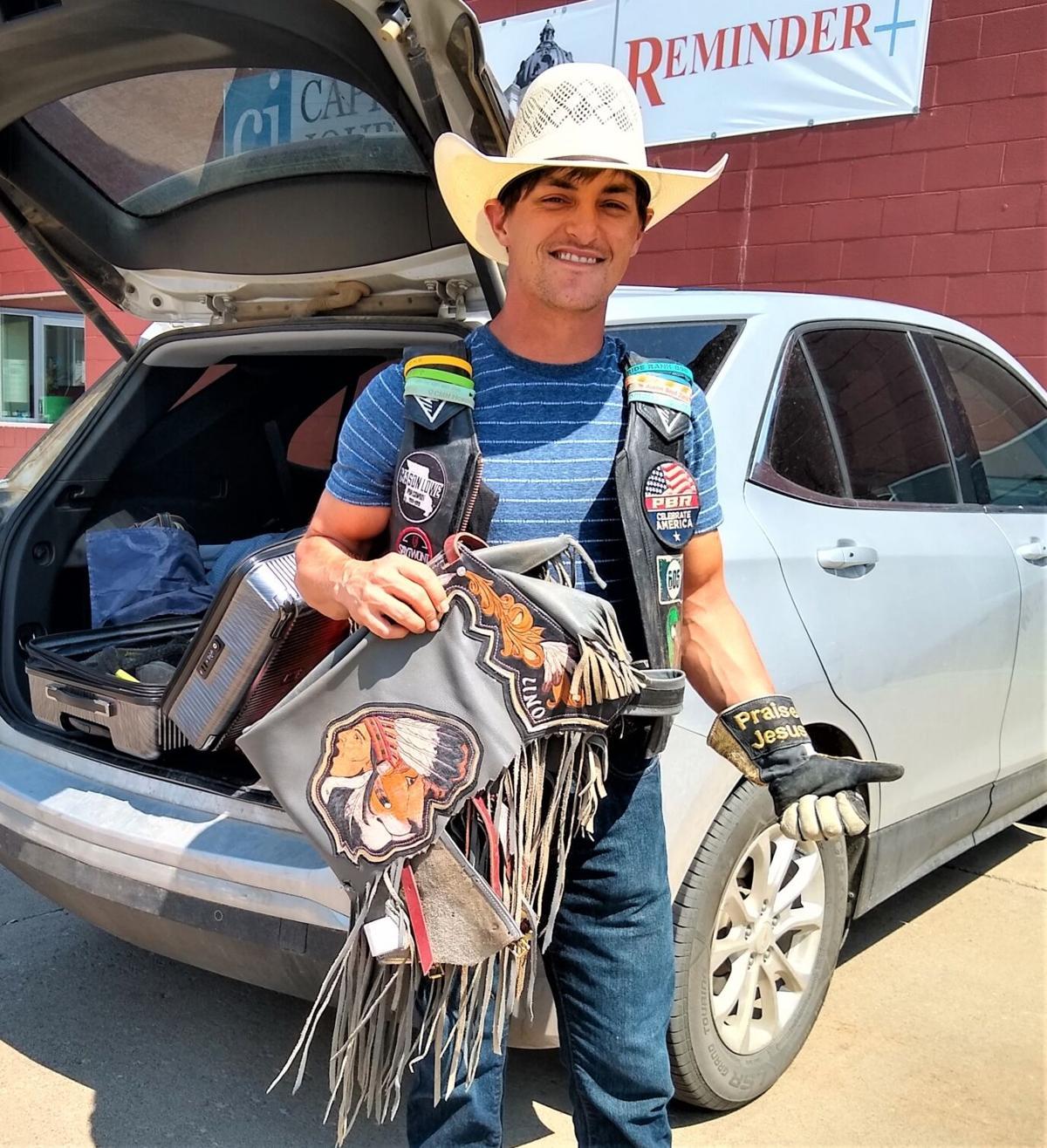 Bull rider Madsen turns evangelist 1