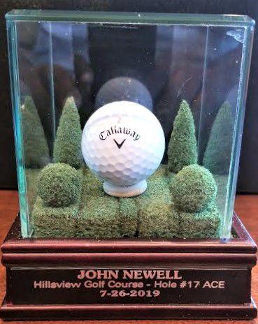 Golfer's dream come true