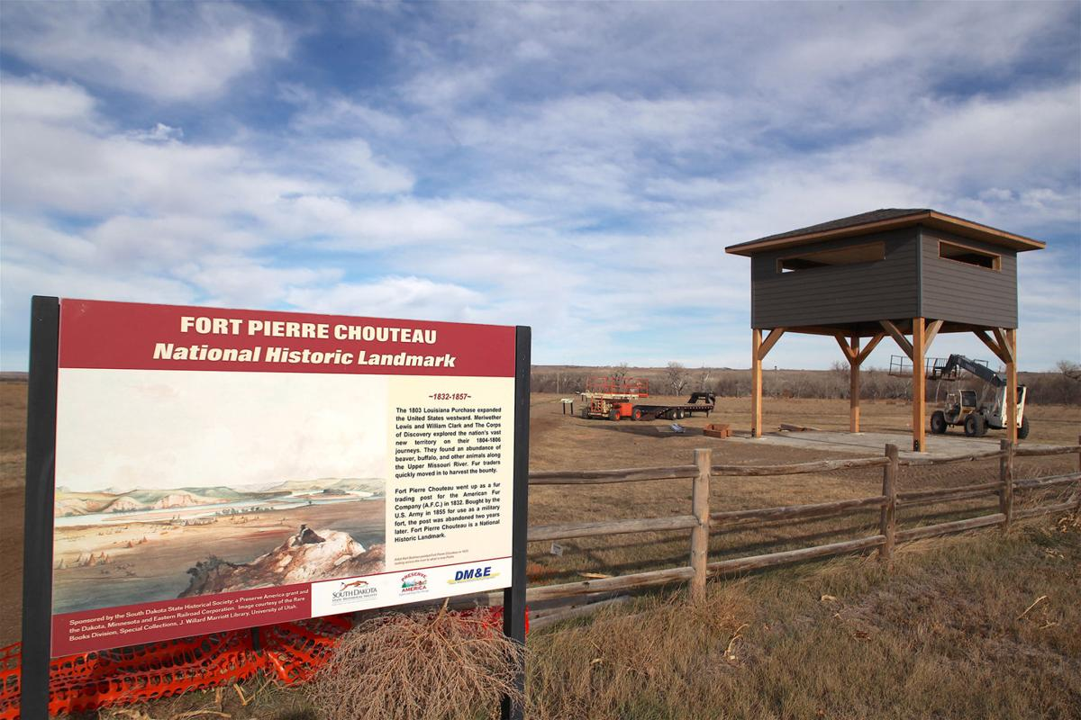 Fort Chouteau Tower Now Constructed City Maintenance Agreement For