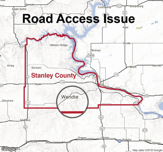 Stanley County wants to go down road of better communication on trail south of Wendt
