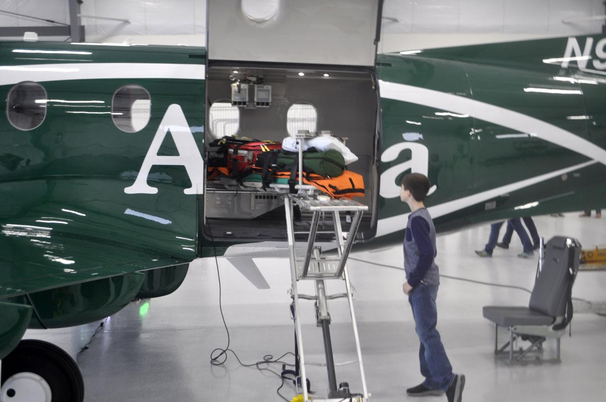 classic finest selection elegant shoes Avera Health unveils new hangar, new aircraft for Careflight ...