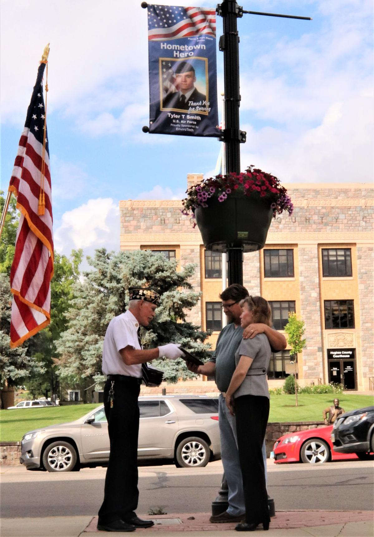 Active Duty Banner Program sees another Honor Guard presentation
