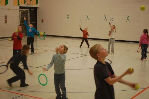 Early to exercise: Jefferson Elementary promotes exercise with early morning gym time
