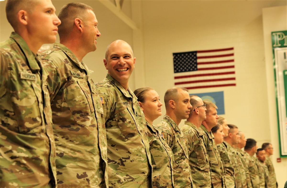 National Guard families say goodbye