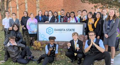 """Oral Interp teams takes First """"AA"""" Place at Madison meet"""