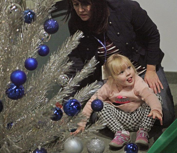 Vintage 1964 artificial Christmas tree to spin for Cultural Heritage Center Open House