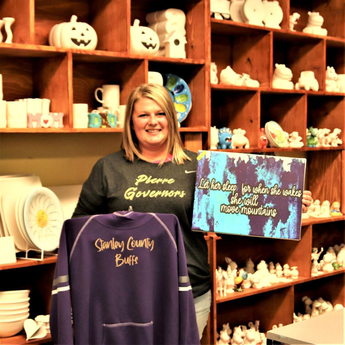Pottery Plus new owners hold open house