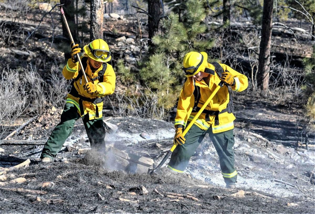 National Guard employed to fight Schroeder Fire 2