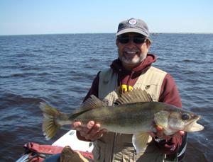 Fishing runs hot and cold for Lake of the Woods Opener crew