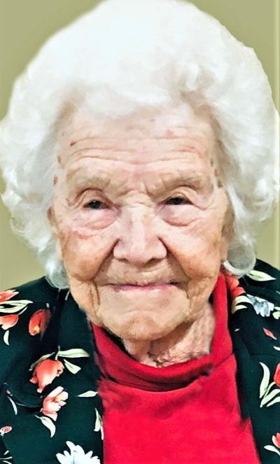 Roberta DuBois, 101