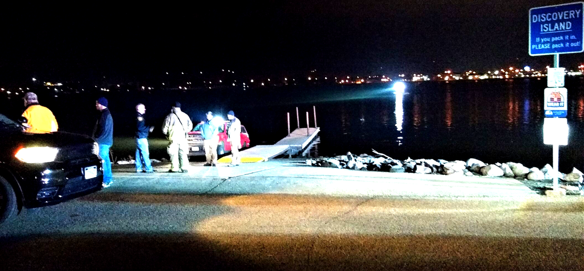 Precautionary search of river ends safely 1