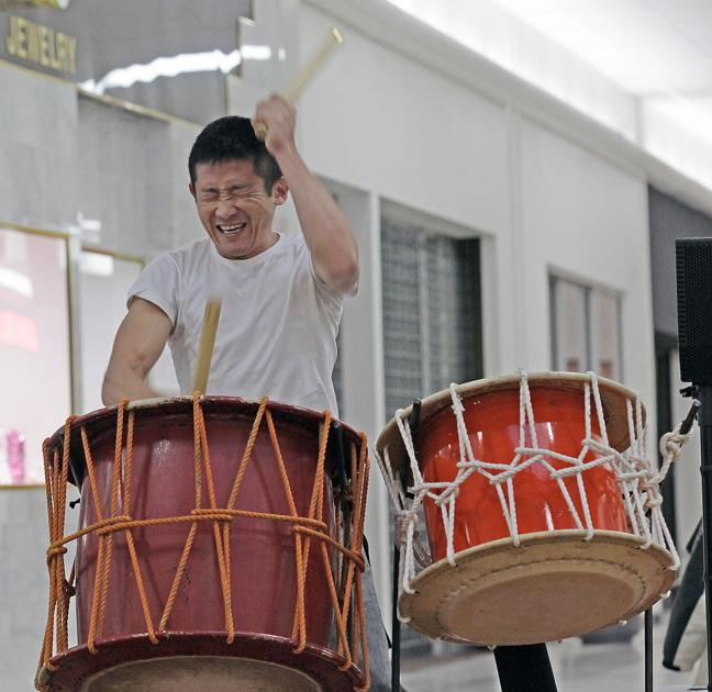 Japanese percussion group visits Pierre area through the week in advance of Sunday concert