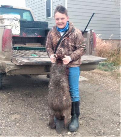 13-year-old hunter bags somewhat rare prize