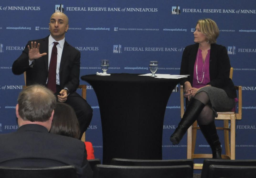 Kashkari, Minneapolis Fed president, talks interest rates, inflation and wages during Pierre visit