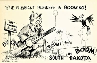 Down by the Old Missouri - shooting pigs, drugs and pheasants
