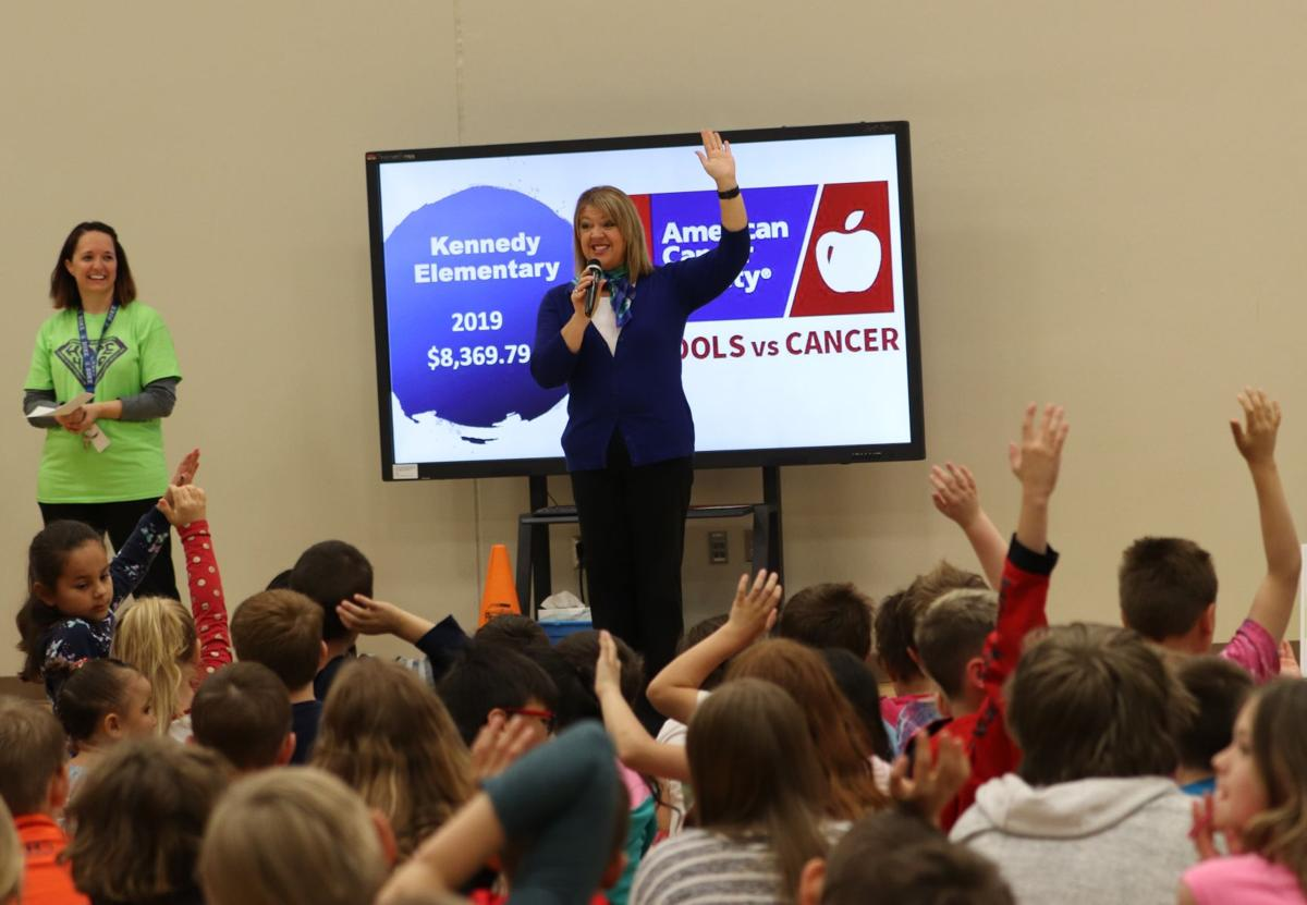Kennedy Elementary strives for win with Schools versus Cancer