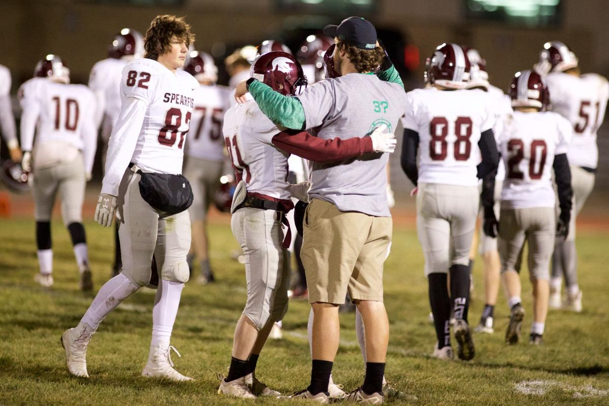 Coach Naasz give free hugs after 103-0 game