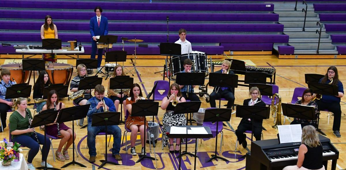 Band, choir awards