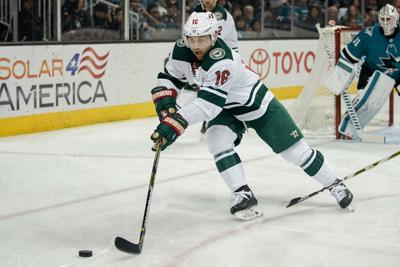 Wild S Jason Zucker Is Out 50k Thanks To Hot Stick Late Friend