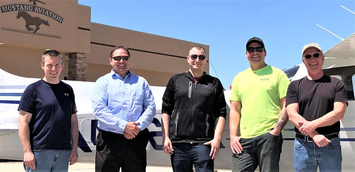 Pilots continue to earn their wings and advancements at Pierre's Mustang Aviation