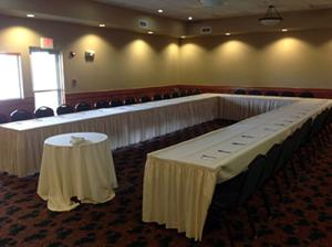 Scotty Philip Conference room seats up to 75 people