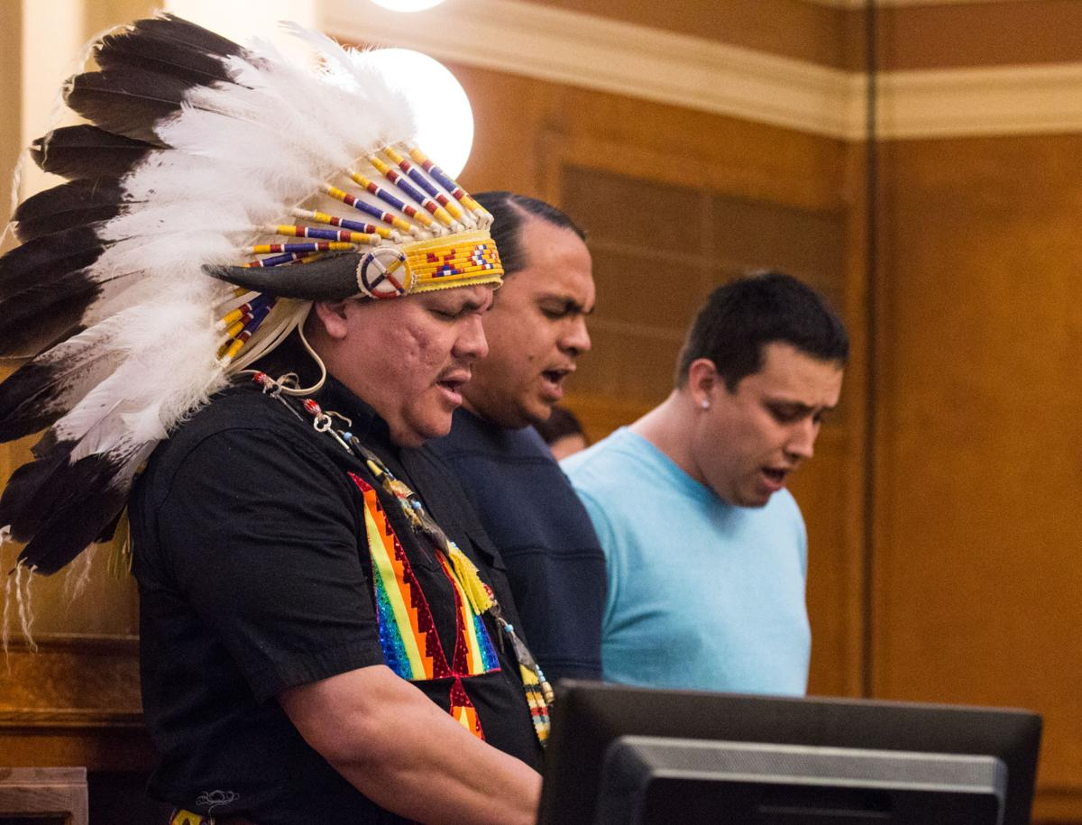 "Yankton Sioux chairman gives 2nd ""State of the Tribes"