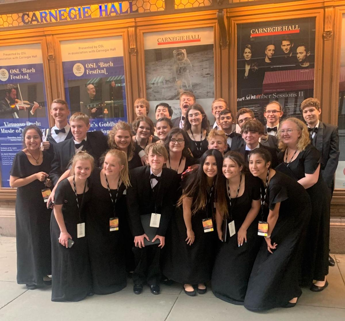 T.J. Riggs Chamber Choir are Carnegie Hall performers
