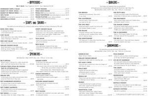 Longbranch menu 2