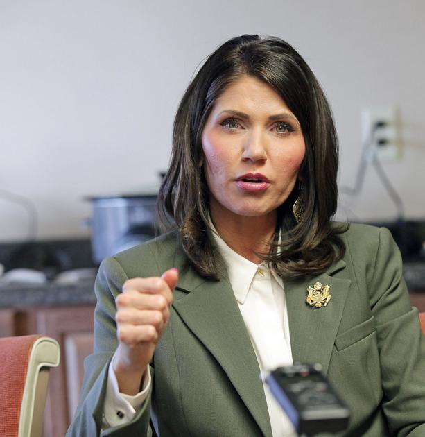 Noem Talks Online Sales Taxes In Pierre, Among Other