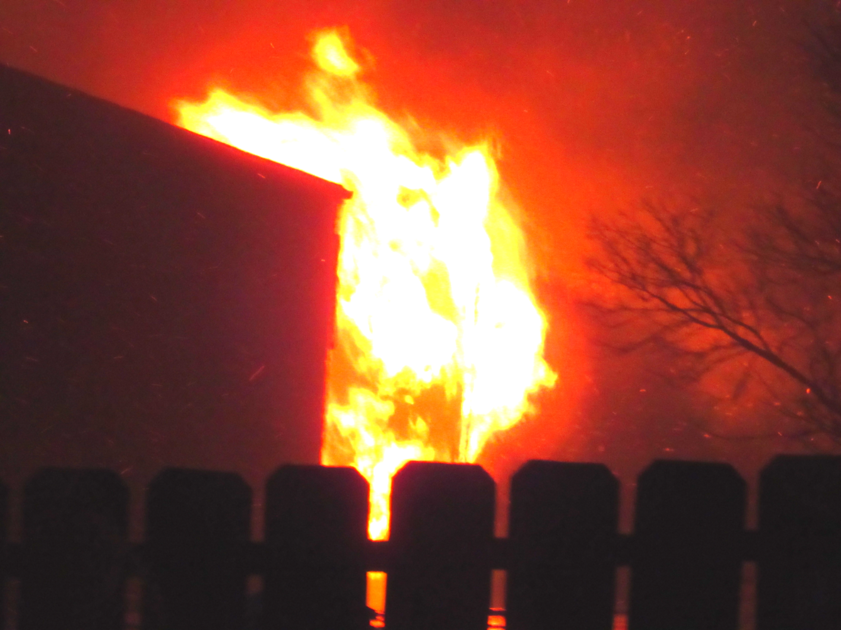 Pierre apartment building burns
