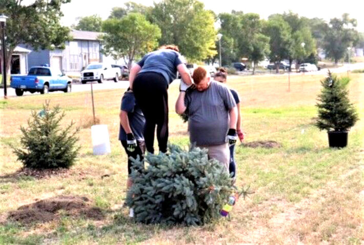 Future Pierre Dog Park 'ground breaking' for trees