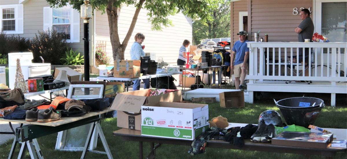 City-wide garage sale a surprising success