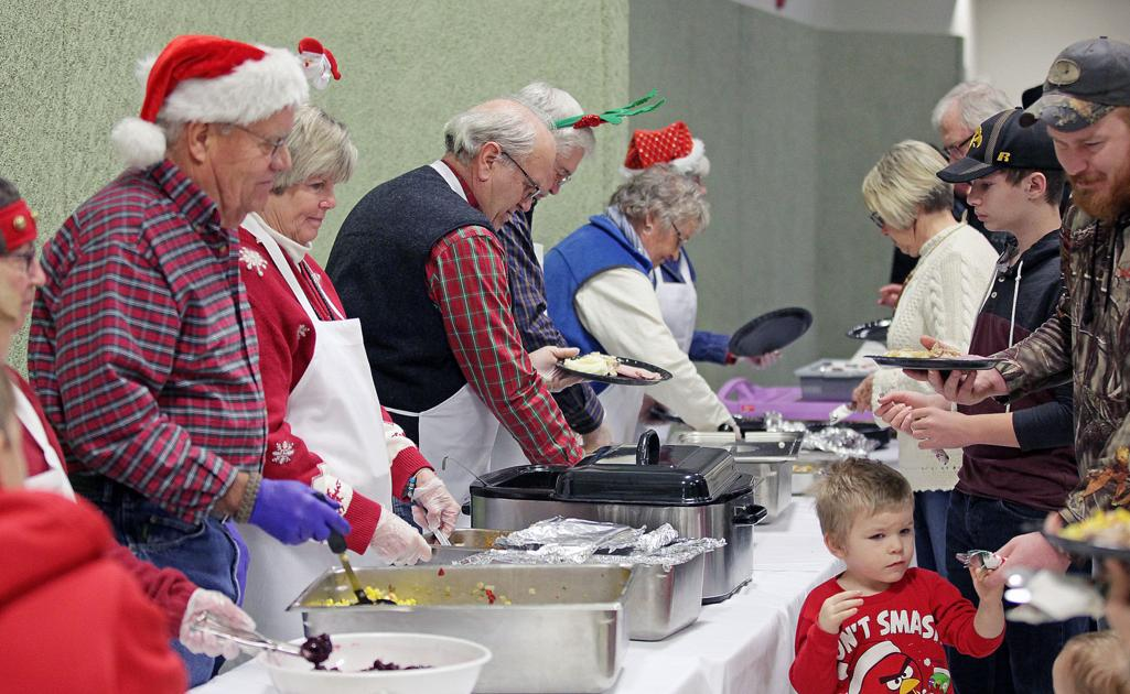 More than 200 partake in Fort Pierre's annual Christmas dinner