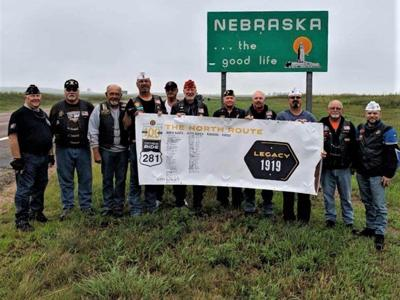 American Legion Centennial Ride crossed South Dakota