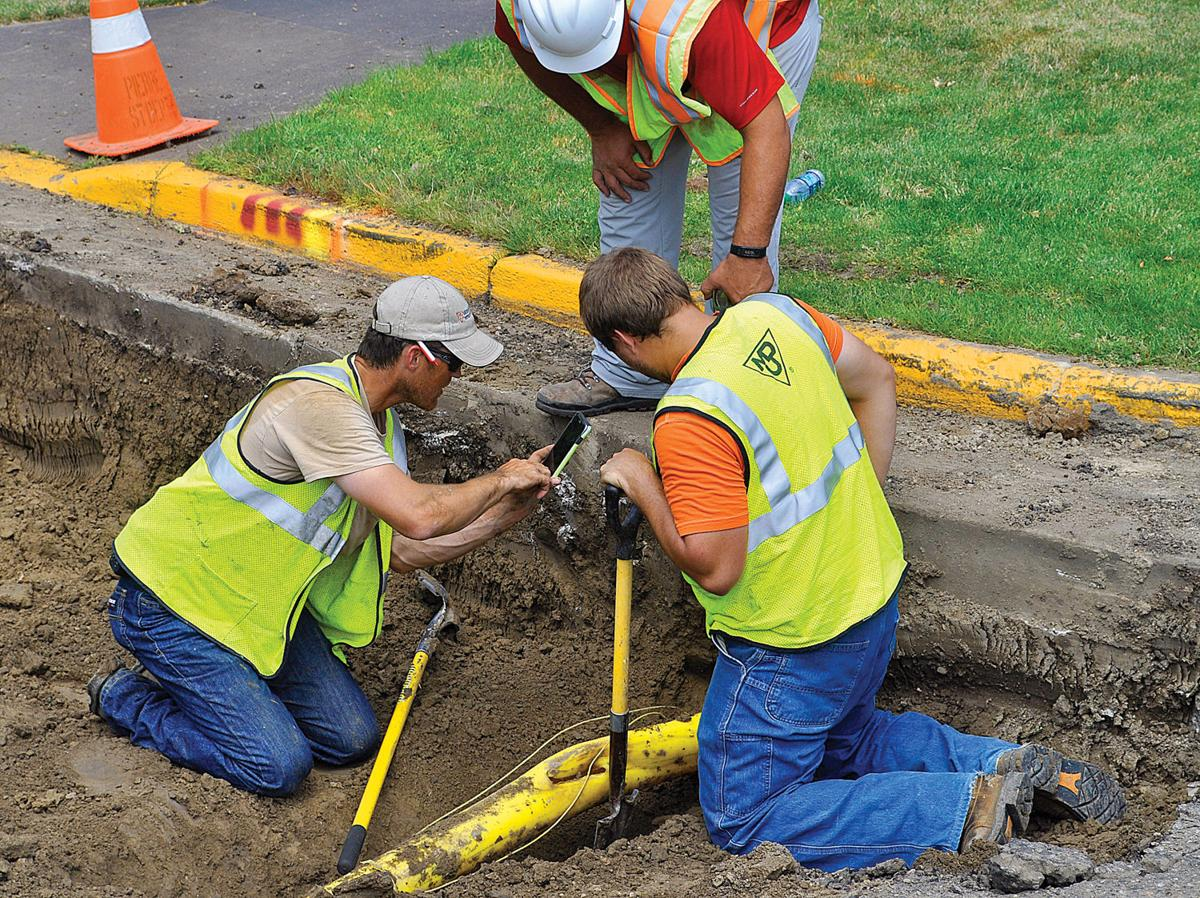 how to fix a gas line leak